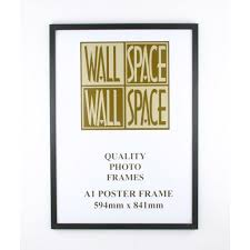 more views a1 wooden poster frame black wood