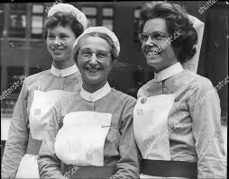 Nurses Uniforms 1962 Sister Gillian Keefe Hilda Editorial Stock Photo -  Stock Image   Shutterstock