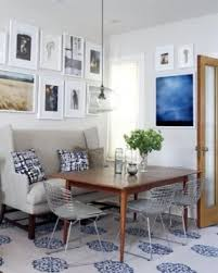 dining table with sofa bench. when i lived with my mom, she had a sofa dining table bench