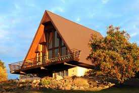 a frame houses | The A-frame is the epic combo of modern meets mountain