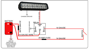 led light bar relay wire up polaris rzr forum rzr forums net autozone