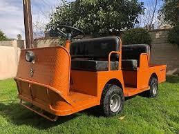 flatbed utility cart. Fine Utility Taylor Dunn B248 Flatbed Utility Cart Burden Carrier 4 Seater On A
