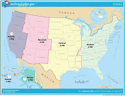 Usa Full Size Map Hepsimaharet Printable Time Zone Map
