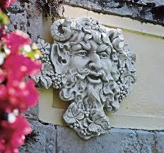 Design Toscano Wholesale Uk Design Toscano Bacchus God Of Wine Greenman Wall Sculpture Large 19 Inch Polyresin Antique Stone
