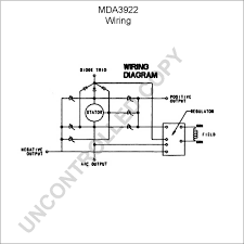 mda alternator product details leece neville mda3922 wiring diagram