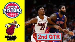 Detroit Pistons vs Miami Heat ...