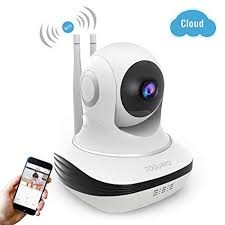 Amazon.com : Wireless Security Camera, 720P HD WiFi Baby Monitor ...