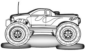 Small Picture Grave Digger Monster Truck Coloring Sheet Coloring Pages Kids