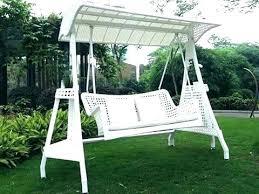 backyard swing chair outdoor patio wicker for hanging sky living garden australia