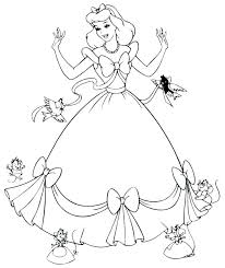 Free Printable Coloring Pages Girls In Dresses Wedding Dress
