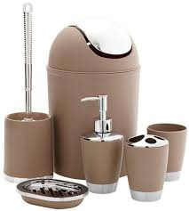 product images gallery universal 6 pieces bathroom accessories set