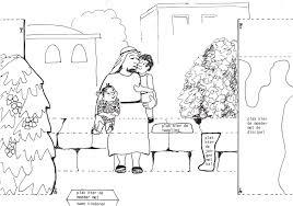 Jezus En De Kinderen Knutsel Deel 1 Jesus And The Children Craft