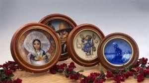 decorative wooden plate frames