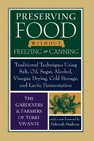 Food Preservation Chart Amazon Com Preserving Food Without Freezing Or Canning