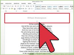 How To Insert A Custom Header Or Footer In Microsoft Word