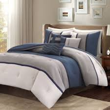 cal king comforter. Madison Park Palisades 7-Piece Reversible California King Comforter Set In Blue Cal