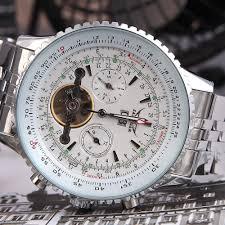 jaragar automatic self winding mechanical wrist watches men jaragar automatic self winding mechanical wrist watches men analog display stainless strap luxury design wristwatch