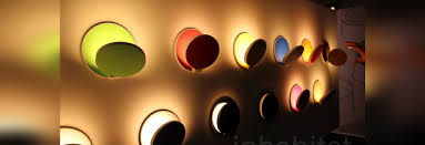 flippable dimmable gravy led wall sconces are playful wall candy for your home