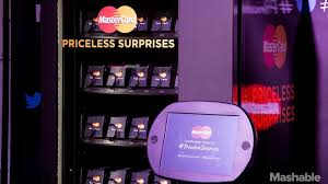 Mastercard Priceless Surprises Vending Machine Impressive Startups Meet Tech Leaders And Advisers At Mashable House In Austin
