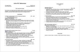 Sample Employment Resume Preparing An Effective Sales Resume Franks Employment