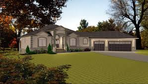 house plan enchanting walkout basement plans for nice your home luxury ranch with bungalow dist ranch