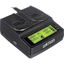 Buy Watson Watson Duo LCD Charger with 2 <b>NP</b>-<b>FW50</b> Battery ...