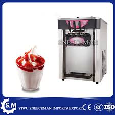 Soft Serve Vending Machine Adorable 48 48LH Soft Serve Ice Cream Machine Table Ice Cream Vending