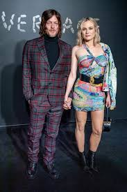 Diane Kruger, 45, & Norman Reedus, 52, are 'engaged' after four ...