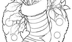 Small Picture Christmas stocking Coloring PagesFree Coloring Pages For Kids