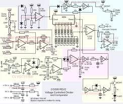 ken stone s modular synthesizer the schematic of the voltage controlled divider