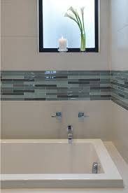 white glass bathroom tiles. Accent Mosiac Inlay In Wall Ddecoration Blue Tones White Glass Bathroom Tiles S