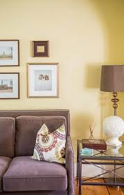 creditview yellow walls living room