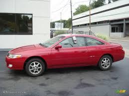 1999 Red Flame Metallic Toyota Solara SE V6 Coupe #17904743 ...