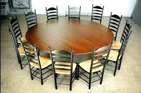 big round table pertaining to prepare 8