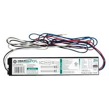 Fluorescent Light Fixture Ballast Ge Electronic Ballast For 2 Or 1 Lamp Compact Fluorescent