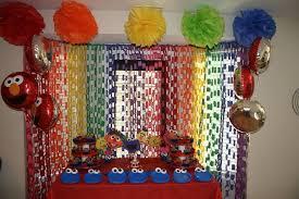 sesame street homemade party decorations home made dma homes