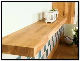 solid wood floating shelves uk