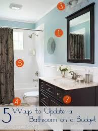 5 ways to upgrade a bathroom on a budget don t neglect a needed