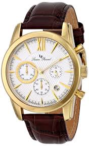 mens real gold watches best watchess 2017 gold watches men lucien piccard s lp 12356 yg 02s mulhacen