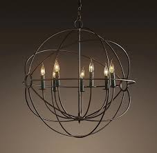 round orb chandelier excellent iron orb chandelier restoration hardware chandelier knock off round black chandeliers and