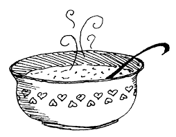 Soup Bowl Coloring Pages