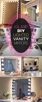 diy lighted vanity mirror. diy lighted vanity mirrors diy mirror t