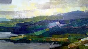 abstract expressionism landscape painting contemporary art by zlatko