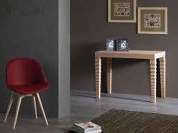 Tavolo Consolle Allungabile Classico : Tavolo consolle allungabile in legno con piano rovere art