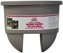 buy home dek dekor dual margarita dual rail planter in cheap price