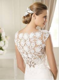 Discount Simple Unique Country Style High Lace Low Wedding Dresses Vintage Country Style Wedding Dresses