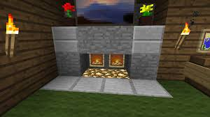 make a fireplace in minecraft pe image collections norahbent