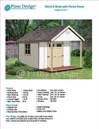 Home Garden Design Plan Mesmerizing 48' X 48' Cabin Loft Utility Shed With Porch Plans Plueprint