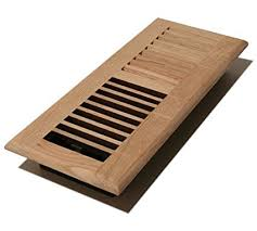 decor grates wl410 u 4 inch by 10 inch wood louver floor register