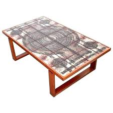 art coffee table van tables round